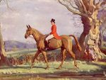 Alfred Munnings Hunting prints H.R.H. The Prince of Wales