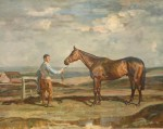 Brown Jack by Alfred Munnings Racing print