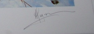 Alan B Hayman Pheasants print pencil signature