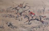 Tom Carr Prints Etchings Hunting Racing