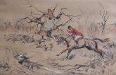 Tom Carr Prints Etchings Hunting Racing