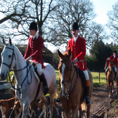 The Pytchley Hunt and The North Staffs Hunt Joint Meet