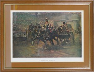 Gilbert Holiday prints The RHA Royal Horse Artillery at Olympia