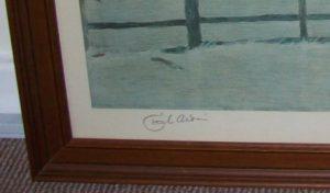 Cecil Aldin Whaddon Chase original signed Hunt frame