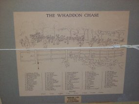Cecil Aldin Whaddon Chase original signed Hunt key