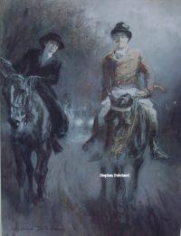Gilbert Holiday Love in the Mist Original Print