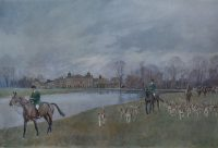 Lionel Edwards Hunting Print The Duke of Beauforts