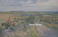 Lionel Edwards Hunting Print The Cotswold Hunt
