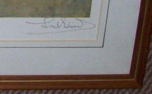 Lionel Edwards Hunting print The Pytchley Hunt frame