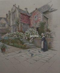 Cecil Aldin Print Binghams Melcombe Dorset