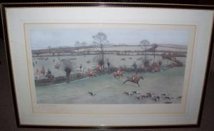 Cecil Aldin The Warwickshire Hunt frame