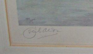 Cecil Aldin The Warwickshire Hunt signature