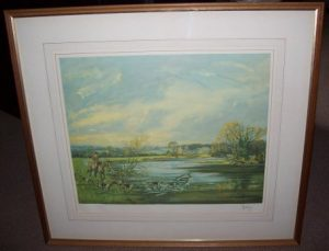 John King The Wynnstay Hunt aka Sir Watkin Williams-Wynn's print frame