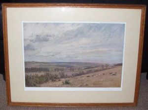 Lionel Edwards Hunting Print The Croft Beagles Frame