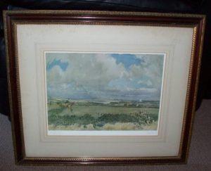 Lionel Edwards print The Rockwood Harriers Frame
