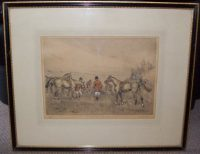 Tom Carr The End of Forty Minutes Etching Frame