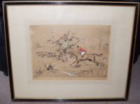 Tom Carr Huic Forrard Etching Frame