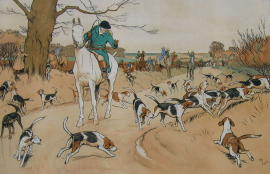 Cecil Aldin Prints, Dog Etchings and Coaching Pictures for sale