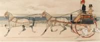 Cecil Aldin Print Brighton