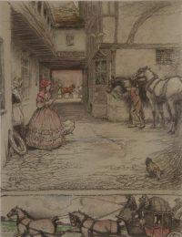 Cecil Aldin Print The Valentine
