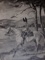 G.A. Fothergill Etching The Greys Patrol