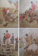G.D. Armour Hunting Print The Bridge Players