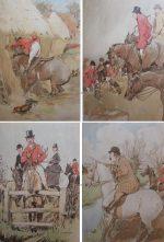 G.D. Armour Hunting Print The Bridge Players