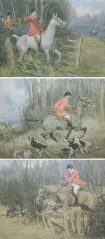 G.D. Armour Hunting Prints The Master The Huntsman The First Whip