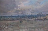 Lionel Edwards Hunting prints The Blackmore Vale Hunt Baileyridge