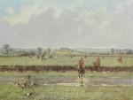 Lionel Edwards Hunting prints The Cottesmore Hunt
