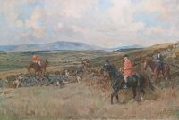 Lionel Edwards Hunting prints The Waterford Hunt