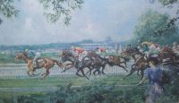 Gilbert Holiday Racing prints Ascot