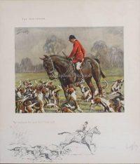 Snaffles Hunting prints The Huntsman