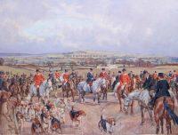 Peter Biegel Hunting Prints The South Dorset Hunt