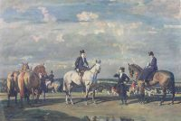 Alfred Munnings Hunting prints Why werent you out yesterday
