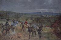 Lionel Edwards print The Warwickshire Hunt