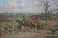 Lionel Edwards Hunting prints The Heythrop Hunt