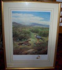 Richard Robjent Merlins frame detail