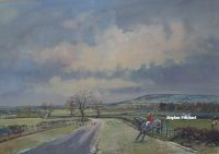 Robin Furness The Bedale Hunt original painting
