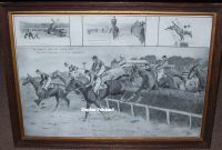 Snaffles Grand Military Gold Cup Impression frame