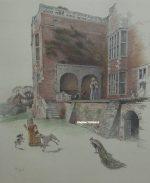 Cecil Aldin print Bramshill House Berkshire