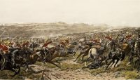 G.D. Giles Print The Charge of The Heavy Brigade