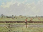 Lionel Edwards Hunting prints The Cottesmore Hunt