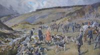 Lionel Edwards Hunting prints The Devon and Somerset Staghounds