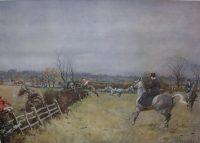 Lionel Edwards Hunting prints The Grafton Hunt