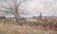 Lionel Edwards Hunting Prints The Household Brigade Draghounds