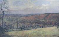 Lionel Edwards Hunting prints The North Warwickshire Hunt Print