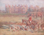 Lionel Edwards Hunting prints The South Shropshire Hunt