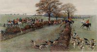 Cecil Aldin Hunting Prints The South Berks Hunt