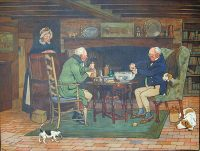 Cecil Aldin prints The Connoisseurs A bowl or Punch and A glass of Port